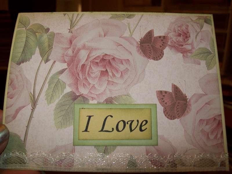 Break up Rose Card