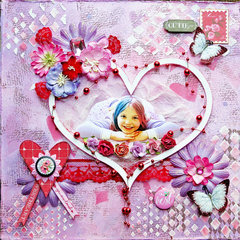 Cutie Pie **Scraps of Elegance** DT Reveal February Kit