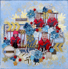 Try to Smile **Scraps of Darkness** DT December Kit