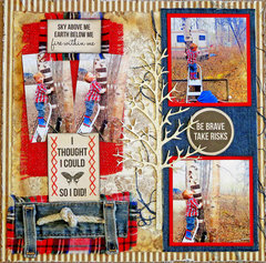 Be Brave **Scraps of Elegance** DT March Kit