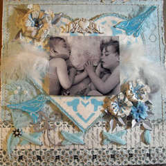 Brotherly Love **Scraps of Elegance** August Kit