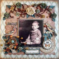 Little Lord Holstrom **Scraps of Elegance** August Kit