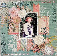 Sweet **Scraps of Elegance**  DT October Reveal