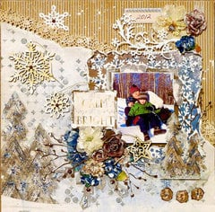 Winter Fun - DT **Scraps of Darkness** December Kit