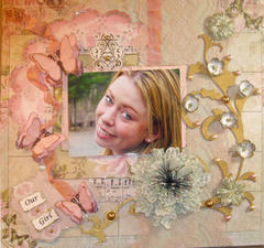 Our Girl Jenny **Scraps of Elegance** January Sketch Challenge