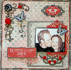 Kiss Me **Scraps of Elegance** DT Reveal February Kit