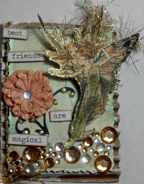 Best Friends are Magical **Scraps of Darkness** ATC Swap
