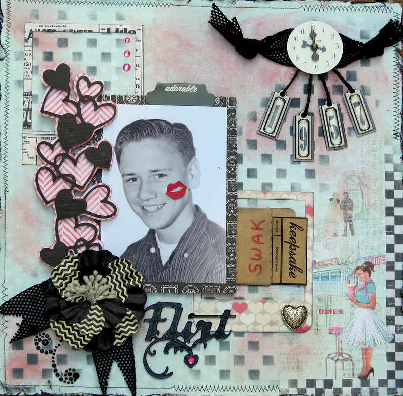 Flirt **Scraps of Elegance** August Kit Sweet August Nights
