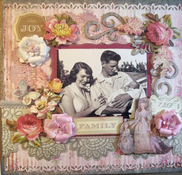 My 1st Picture **Scraps of Elegance** Nov Kit