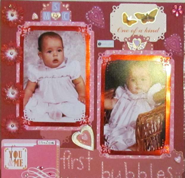 First Bubbles