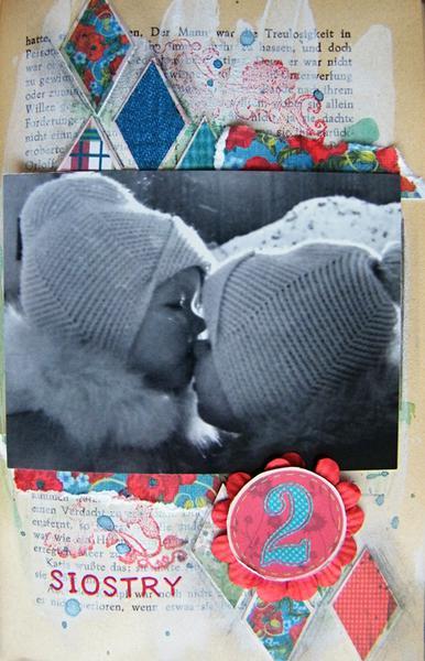 art journal -sisters