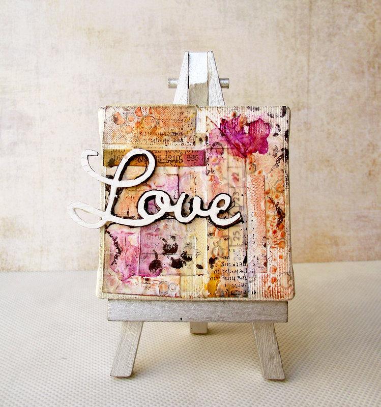 Love canvas - Blue Fern Studios