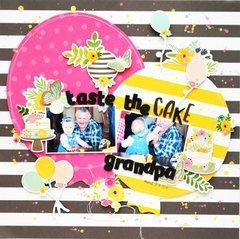 Tate the cake grandpa