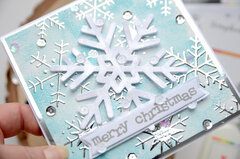 Frosty christmas cards
