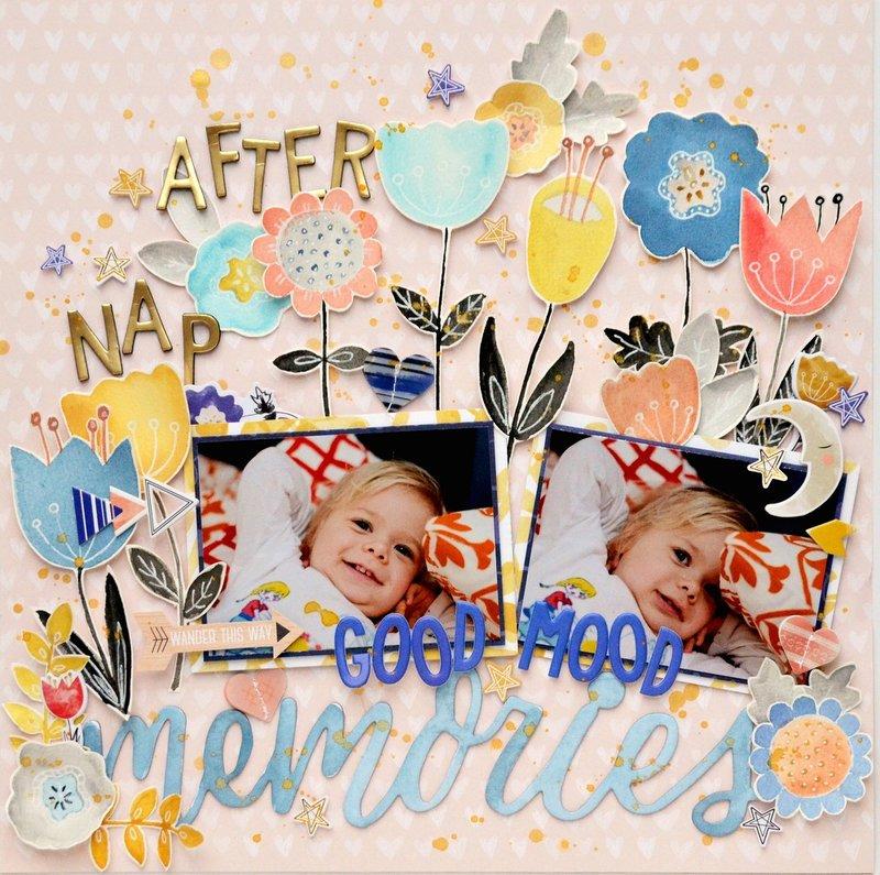 Good mood after nap