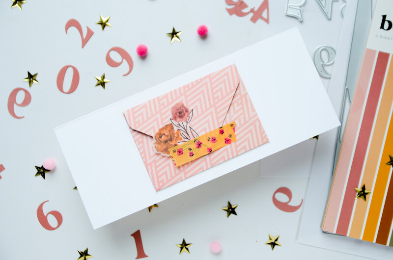 Card with adjustable numbers