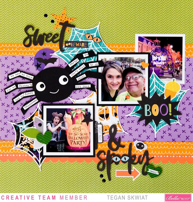 Sweet & Spooky layout **Bella Blvd**