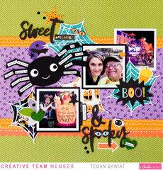 Sweet & Spooky layout **Bella Blvd**