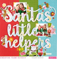 *Bella Blvd* Santa's Little Helper layout