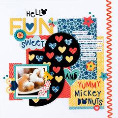 Yummy Mickey Donuts **Bella Blvd**