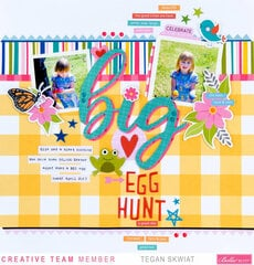 Big Egg Hunt layout **Bella Blvd**