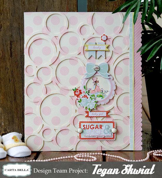 Baby Girl Wall Decor  **Carta Bella Paper**