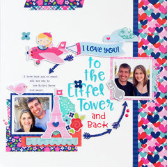 I Love You layout *Doodlebug Design*