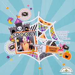 Spooky layout *Doodlebug Design**