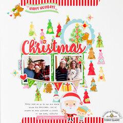*Doodlebug Design* Christmas 2018 Layout