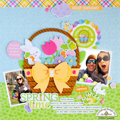 Spring Time layout **Doodlebug Design**