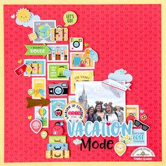 Vacation Mode layout **Doodlebug Design**