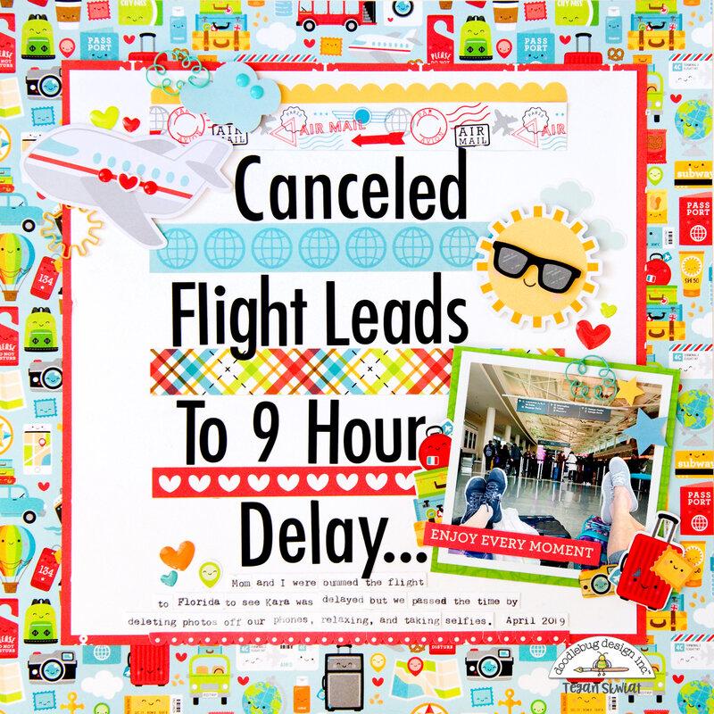 Canceled Flight layout **Doodlebug Design**