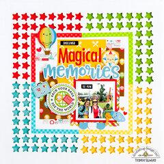 Magical Memories Layout *Doodlebug Design*