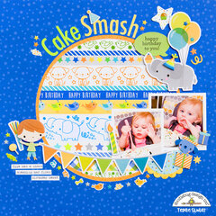 Cake Smash Layout **Doodlebug Design**