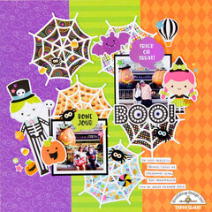 Boo! Layout **Doodlebug Design**