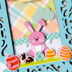 Easter home decor **Echo Park Paper**