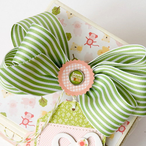 Baby Keepsake Gift Box **Carta Bella**