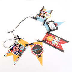 Magical Adventure Banner **Echo Park Paper**