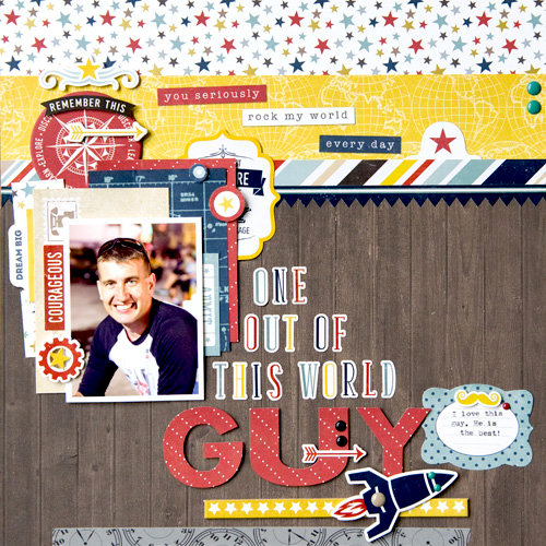 """Guy"" layout  **Echo Park Paper**"