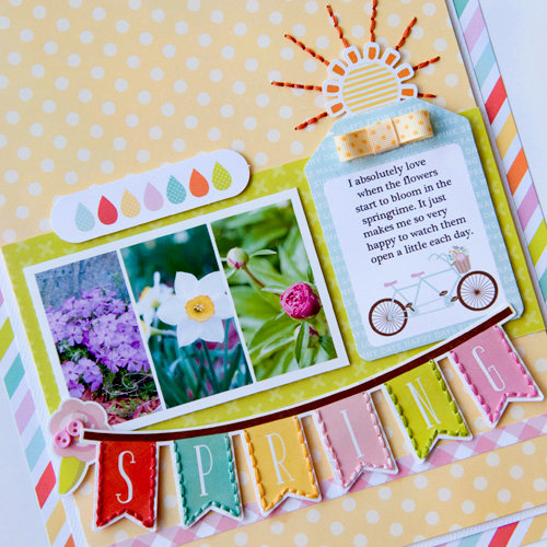 Spring layout **Echo Park Paper**
