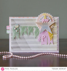 You Rock Star card *Pink Paislee*