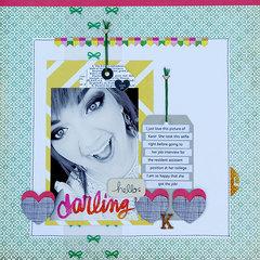 Hello Darling layout