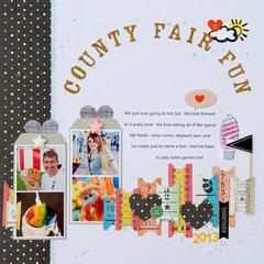 County Fair Fun layout