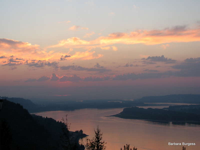 Goodnight from the Columbia River Gorge