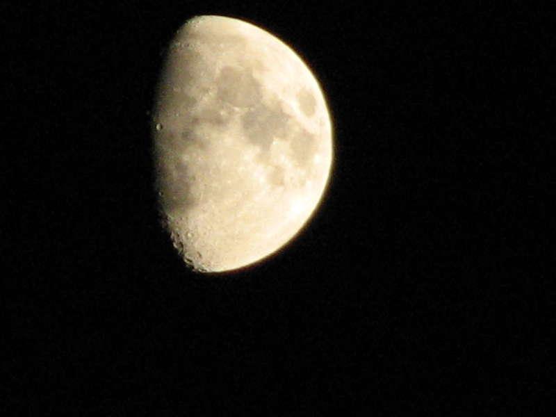 Half Moon over Seattle