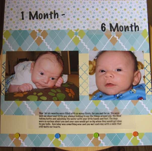 D 1 month - 6