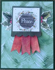 Peace Christmas card