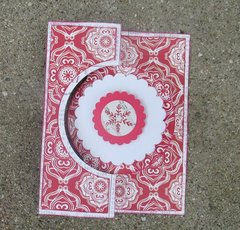Red Christmas Flip-It Outside