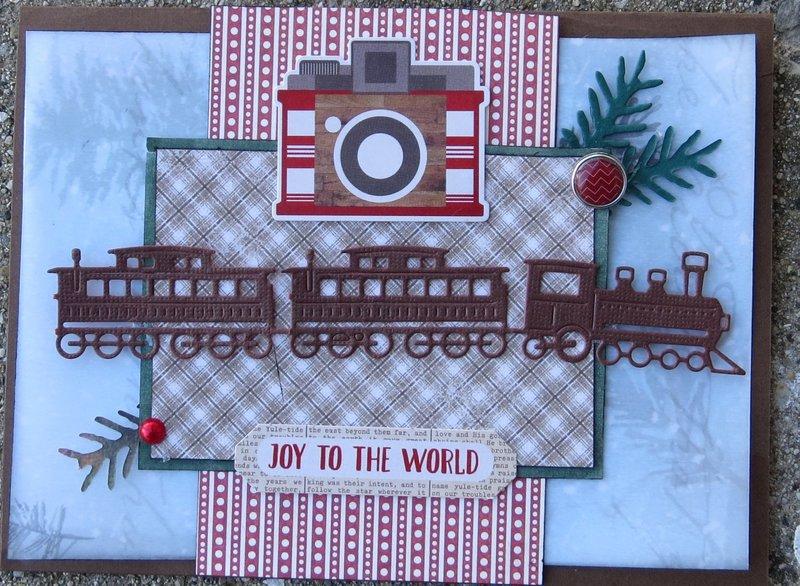 Christmas card (train)
