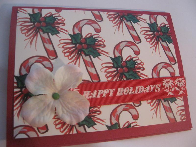 Happy Holidays, flower